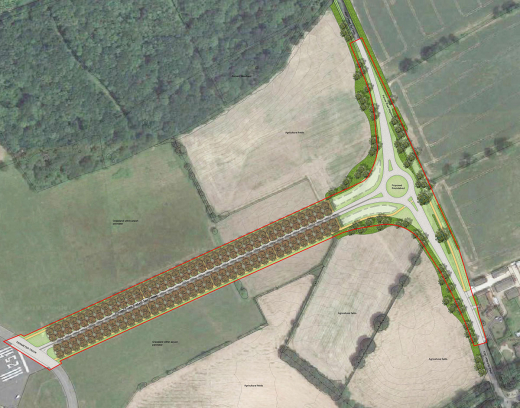 Planning Consent Granted for New Access Road